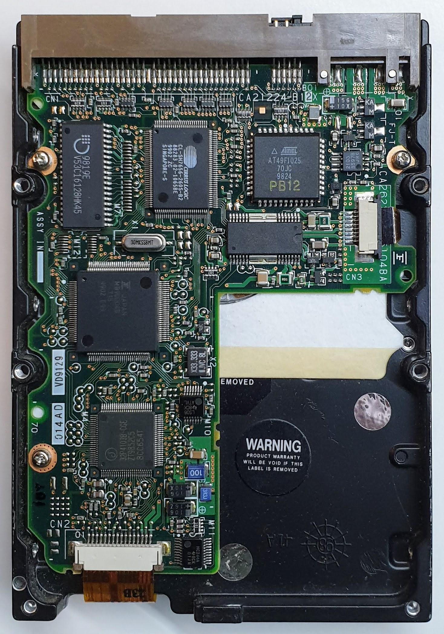 MPC3084AT Fujitsu MPC3084AT FUJITSU MPC3084AT