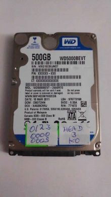 WD5000BEVT-24A0RT0