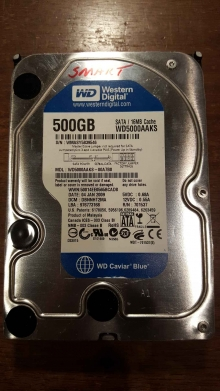 WD5000AAKS-00A7B0