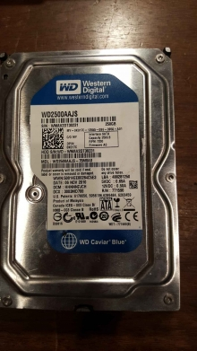 WD2500AAJS-75M0A0