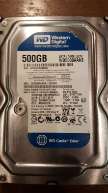 WD5000AAKS-22V1A0